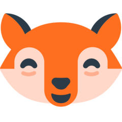 Grinning Cat Face With Smiling Eyes mozilla emoji