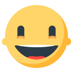 Grinning Face mozilla emoji