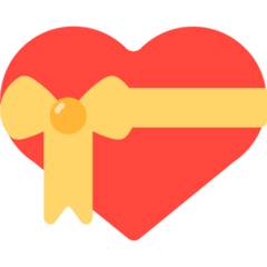 Heart With Ribbon mozilla emoji