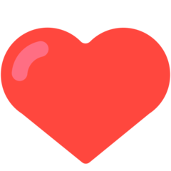 Heavy Black Heart mozilla emoji