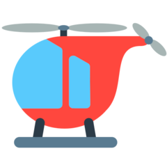 Helicopter mozilla emoji