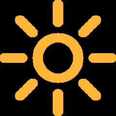 High Brightness Symbol mozilla emoji