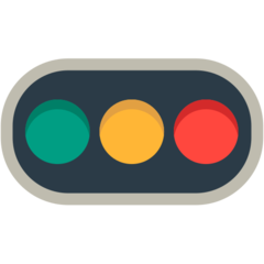 Horizontal Traffic Light mozilla emoji