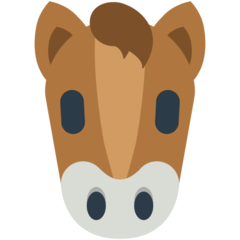 Horse Face mozilla emoji