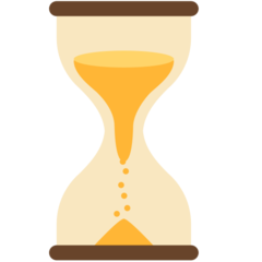 Hourglass With Flowing Sand mozilla emoji