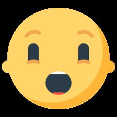 Hushed Face mozilla emoji
