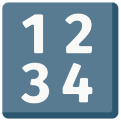 Input Symbol For Numbers mozilla emoji