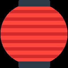 Izakaya Lantern mozilla emoji