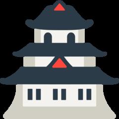 Japanese Castle mozilla emoji