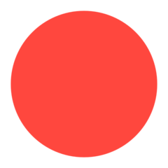 Large Red Circle mozilla emoji