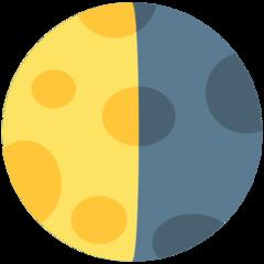 Last Quarter Moon Symbol mozilla emoji