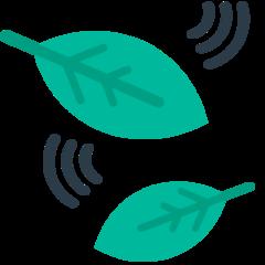 Leaf Fluttering In Wind mozilla emoji