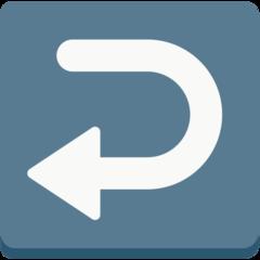 Leftwards Arrow With Hook mozilla emoji