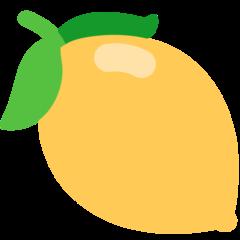 Lemon mozilla emoji
