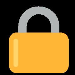Lock mozilla emoji