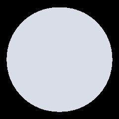 Medium White Circle mozilla emoji