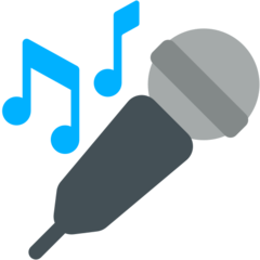 Microphone mozilla emoji