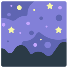 Milky Way mozilla emoji