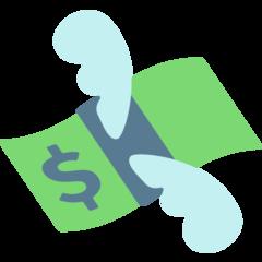 Money With Wings mozilla emoji