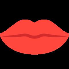 Mouth mozilla emoji
