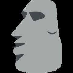 Moyai mozilla emoji