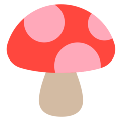 Mushroom mozilla emoji