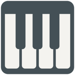 Musical Keyboard mozilla emoji