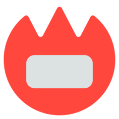 Name Badge mozilla emoji
