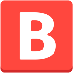 Negative Squared Latin Capital Letter B mozilla emoji