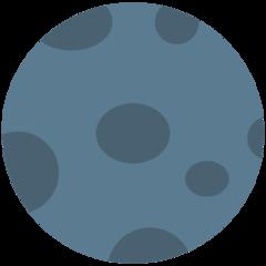 New Moon Symbol mozilla emoji