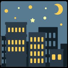 Night With Stars mozilla emoji