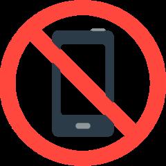 No Mobile Phones mozilla emoji