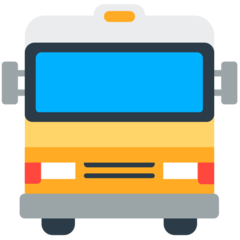 Oncoming Bus mozilla emoji