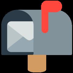 Open Mailbox With Raised Flag mozilla emoji