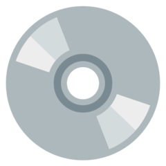 Optical Disc mozilla emoji