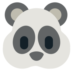 Panda Face mozilla emoji