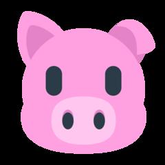 Pig Face mozilla emoji