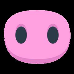 Pig Nose mozilla emoji