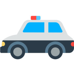 Police Car mozilla emoji