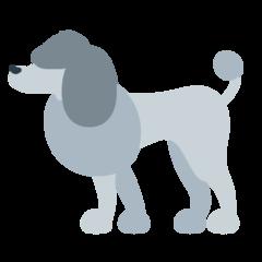Poodle mozilla emoji
