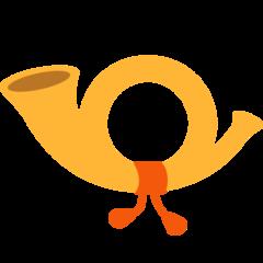 Postal Horn mozilla emoji