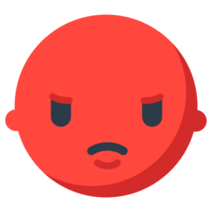 Pouting Face mozilla emoji