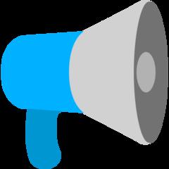 Public Address Loudspeaker mozilla emoji