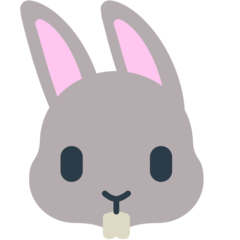 Rabbit Face mozilla emoji