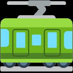 Railway Car mozilla emoji