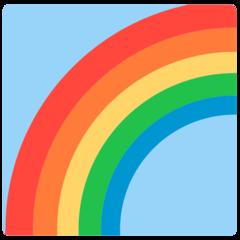 Rainbow mozilla emoji