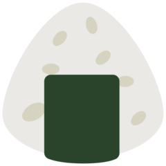 Rice Ball mozilla emoji