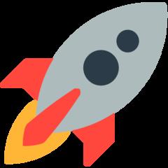 Rocket mozilla emoji