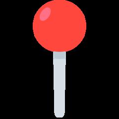 Round Pushpin mozilla emoji