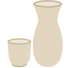 Sake Bottle And Cup mozilla emoji